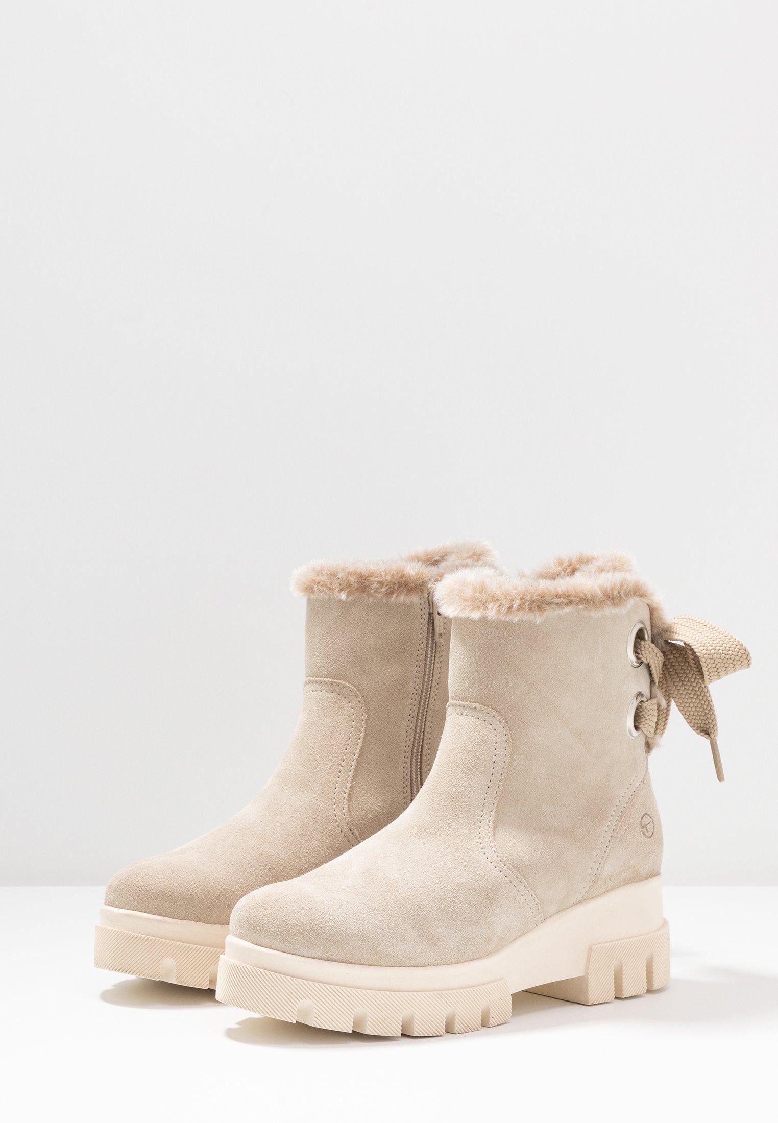 Tamaris Bottes de neige beige