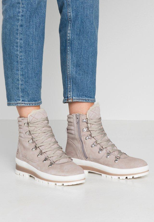 Korte laarzen - light grey