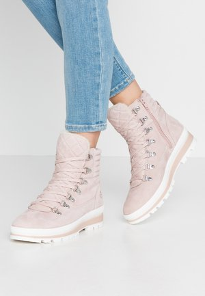 Ankle boots - light rose