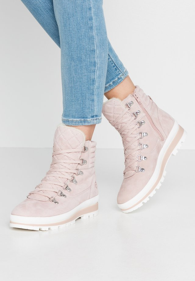 Ankle boot - light rose