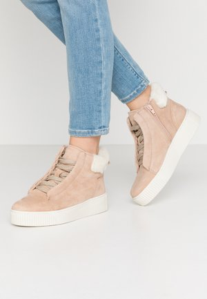 Boots à talons - soft rose