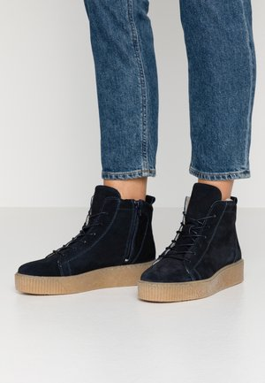 BOOTS - Ankelboots - navy