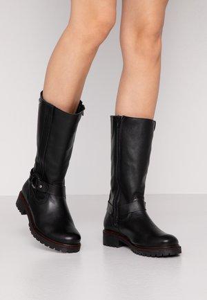 BOOTS - Vinterstøvler - black