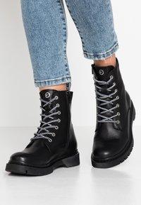 Tamaris - BOOTS - Bottines à lacets - black - 0