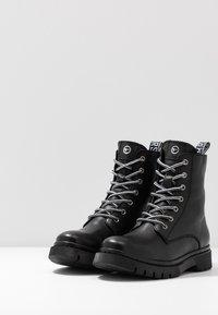 Tamaris - BOOTS - Bottines à lacets - black - 4