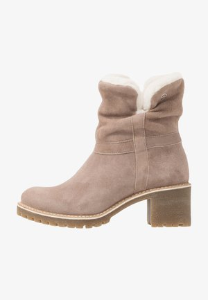 BOOTS - Classic ankle boots - light beige