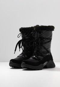 Tamaris - Vinterstøvler - black - 4