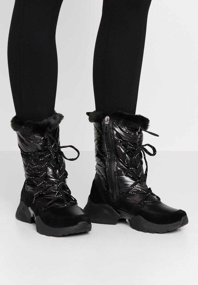 Tamaris - Vinterstøvler - black