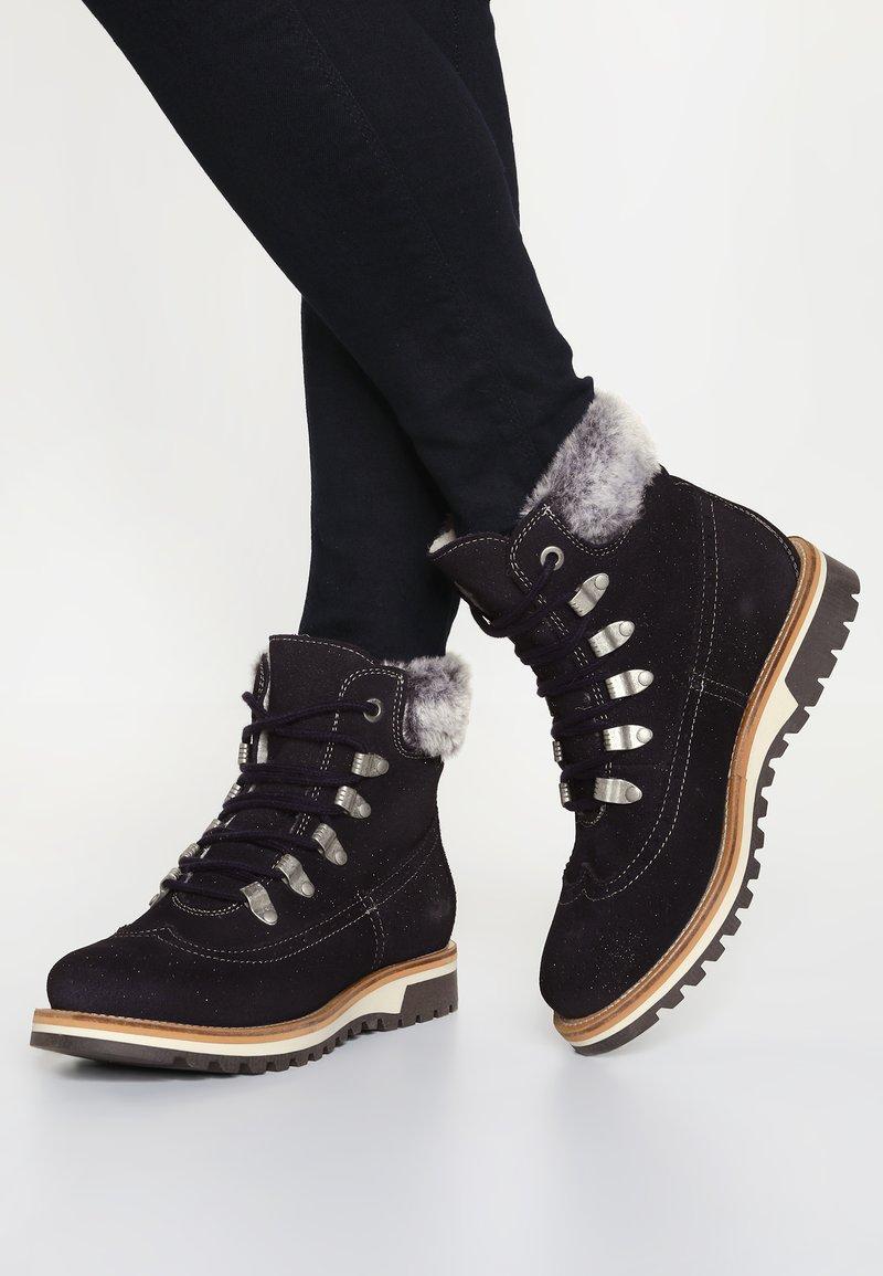 Tamaris - Winter boots - navy