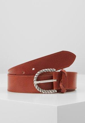 Cinturón - rotbraun