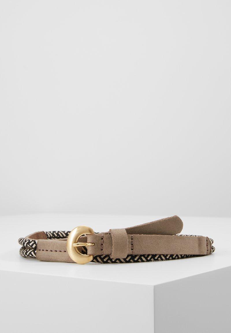 Tamaris - Belt - black/white