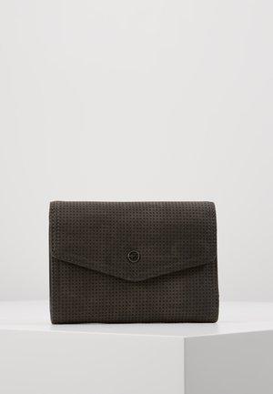 ADRIANA SMALL WALLET WITH FLAP - Portafoglio - black