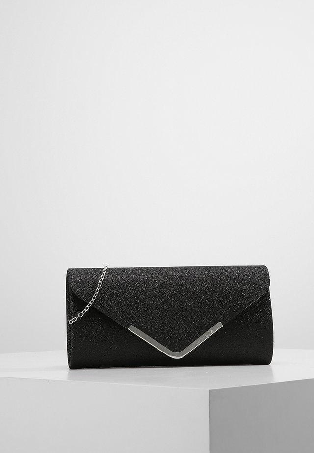 BRIANNA - Clutch - black glitter