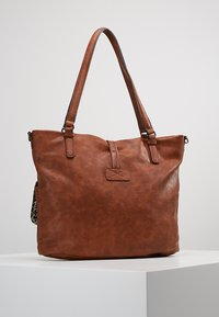 Tamaris - BERNADETTE - Shopping Bag - cognac - 2
