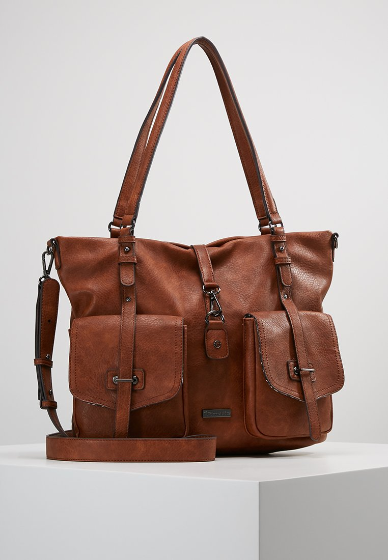 Tamaris - BERNADETTE - Shopping Bag - cognac