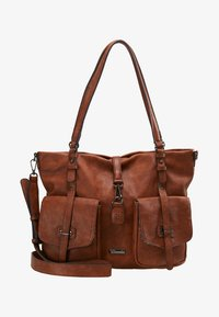 Tamaris - BERNADETTE - Shopping Bag - cognac - 5