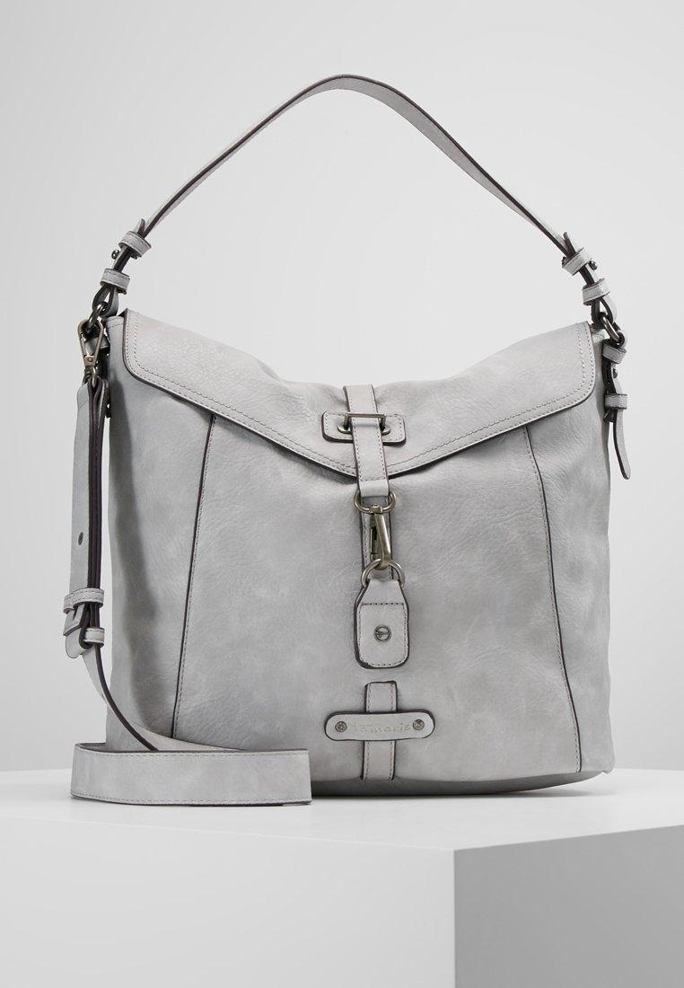 Tamaris - BERNADETTE HOBO BAG - Handbag - light grey