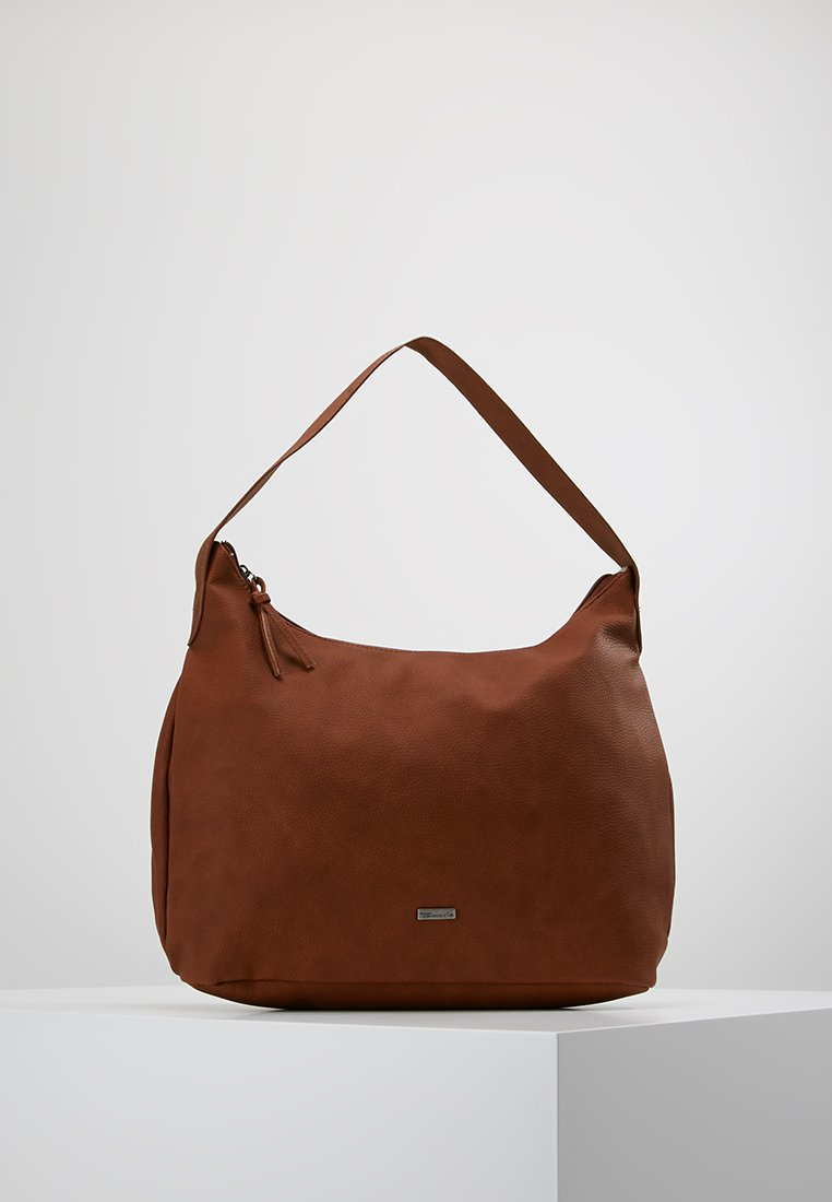 Tamaris - LOUISE HOBO BAG - Handväska - cognac