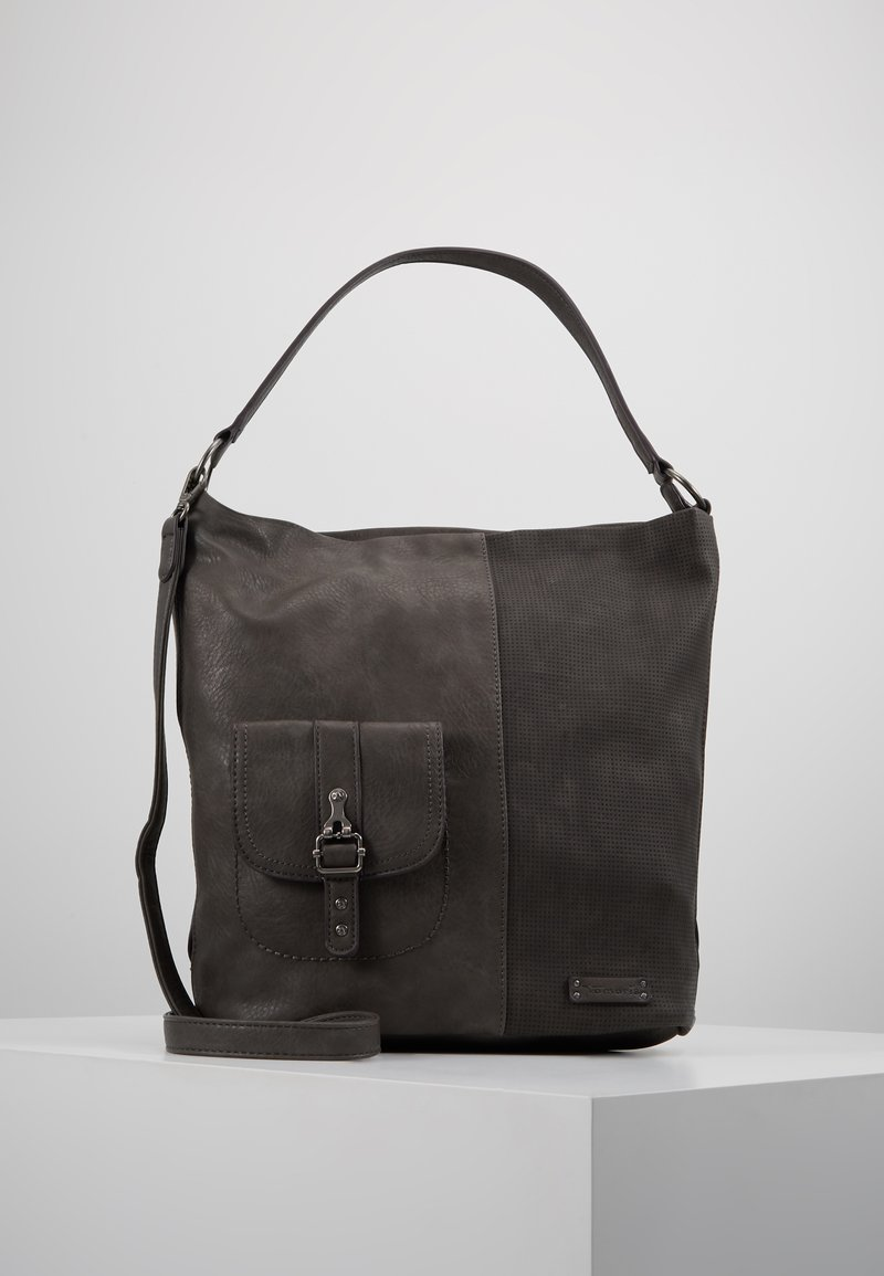 Tamaris - ALBERTA HOBO BAG - Torebka - grey