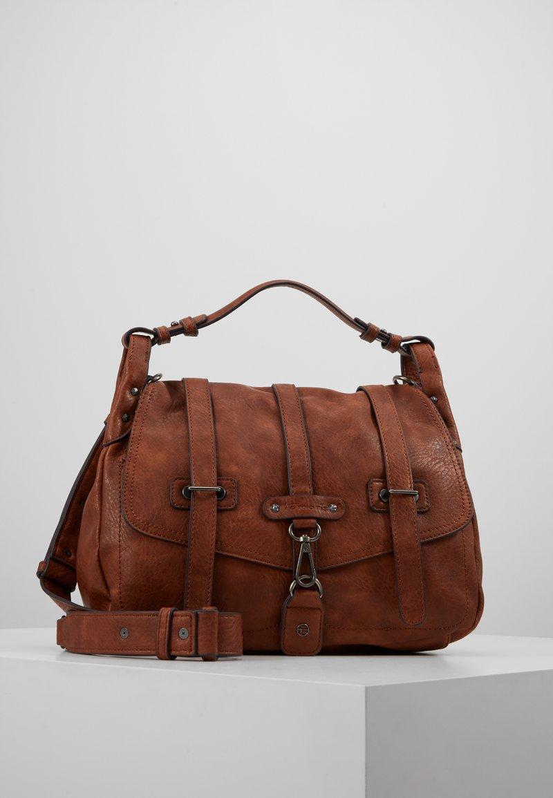 Tamaris - BERNADETTE SATCHEL BAG - Handbag - cognac