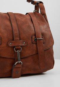 Tamaris - BERNADETTE SATCHEL BAG - Handbag - cognac - 6