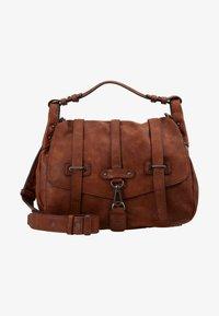 Tamaris - BERNADETTE SATCHEL BAG - Handbag - cognac - 5