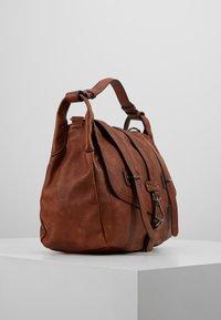Tamaris - BERNADETTE SATCHEL BAG - Handbag - cognac - 3