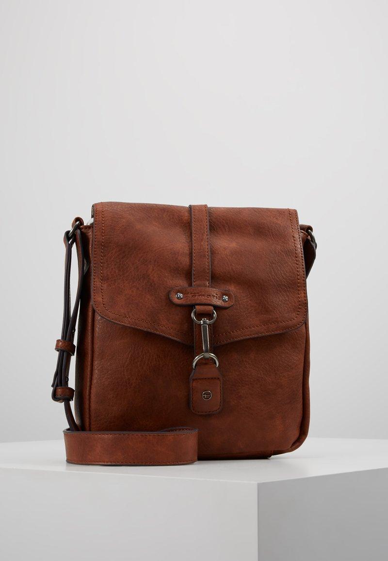 Tamaris - BERNADETTE CROSSBODY BAG - Across body bag - cognac