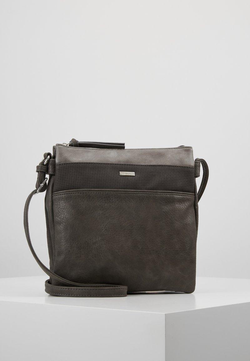 Tamaris - KHEMA CROSSBODY BAG - Sac bandoulière - grey