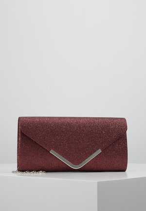 BRIANNA CLUTCH BAG - Clutch - bordeaux
