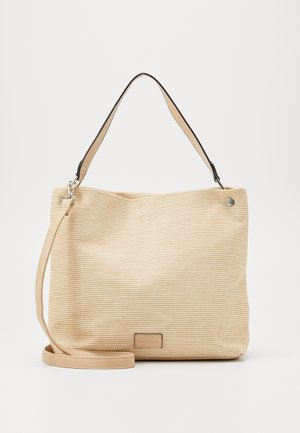 ANJA - Bolso shopping - sand
