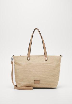 ANJA - Shopping bag - sand