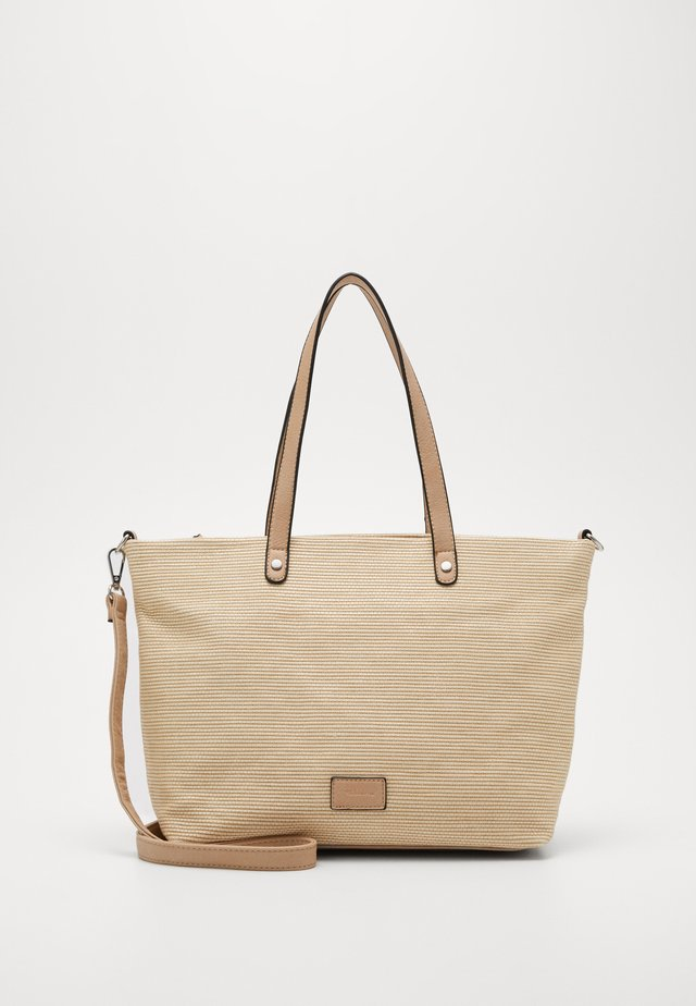 ANJA - Shopping bag - sand