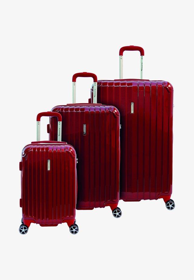 3 SET - Kofferset - rot/red