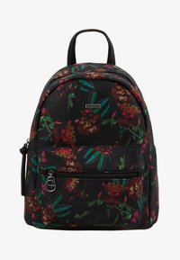 Tamaris - VOLMA BACKPACK - Reppu - black/comb - 5