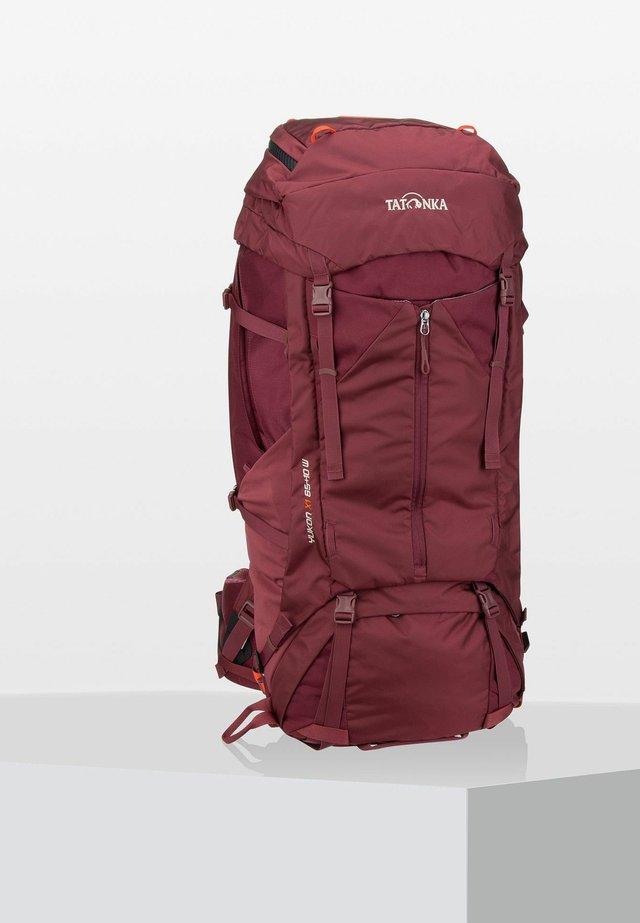 YUKON - Hiking rucksack - bordeaux/red