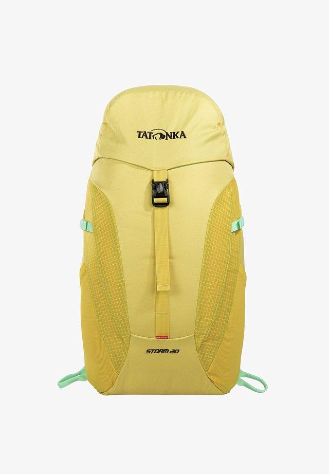 Hiking rucksack - yellow