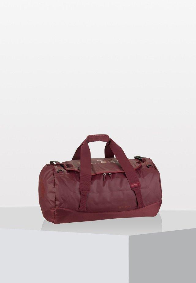 BARREL - Weekend bag - bordeaux/red