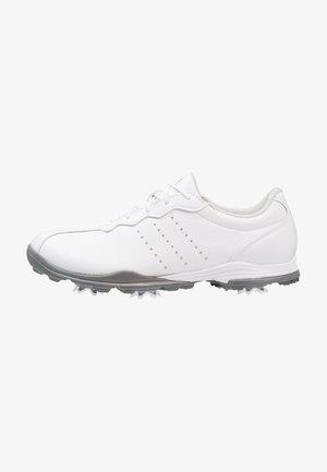 ADIPURE DC - Golf shoes - footwear white/silver metallic