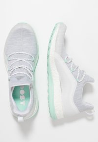 adidas Golf - PUREBOOST - Golfové boty - white/grey/clearmint - 1