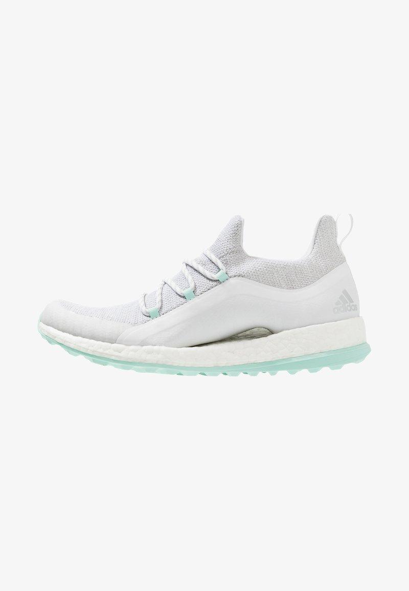 adidas Golf - PUREBOOST - Golfsko - white/grey/clearmint