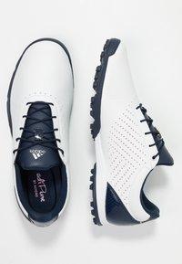 adidas Golf - ADIPURE SC - Golfschoenen - footwear white/collegiate navy/true pink - 1