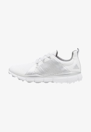 CLIMACOOL CAGE - Golf shoes - footwear white/silver metallic/grey two