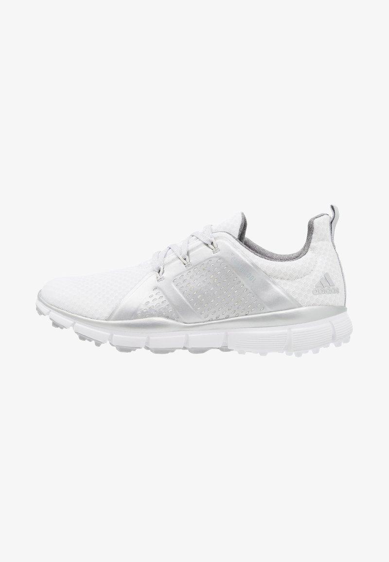adidas Golf - CLIMACOOL CAGE - Scarpe da golf - footwear white/silver metallic/grey two