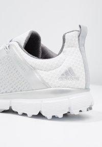adidas Golf - CLIMACOOL CAGE - Scarpe da golf - footwear white/silver metallic/grey two - 5