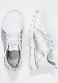adidas Golf - CLIMACOOL CAGE - Scarpe da golf - footwear white/silver metallic/grey two - 1