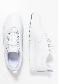 adidas Golf - ADICROSS PPF - Scarpe da golf - footwear white/silver metallic - 1