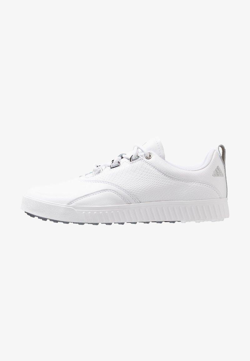 adidas Golf - ADICROSS PPF - Golfové boty - footwear white/silver metallic