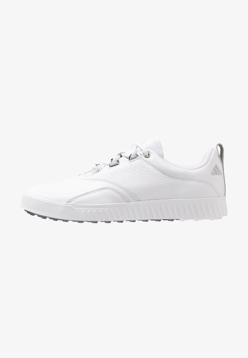 adidas Golf - ADICROSS PPF - Golfschuh - footwear white/silver metallic