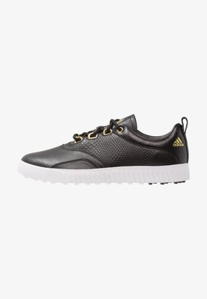 ADICROSS PPF - Obuwie do golfa - core black/gold metallic/footwear white